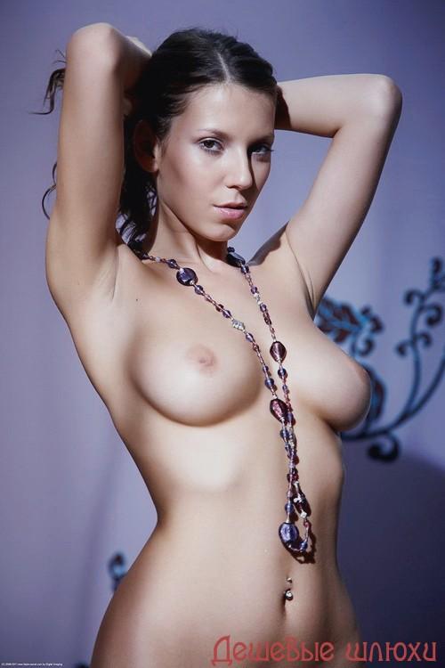 Владлена, 27 лет - мастурбация члена грудью